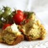 Muffins with Zucchini and Fresh Goat Cheese