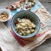 Rice Salad with Dried Tomatoes, Mango and Goat Cheese