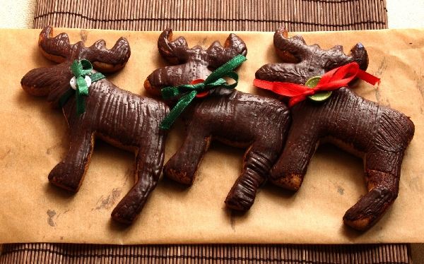Gingerbread Christmas Mooses