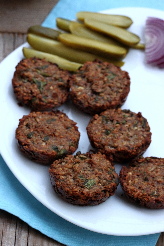 Veggie Buckwheat Burger